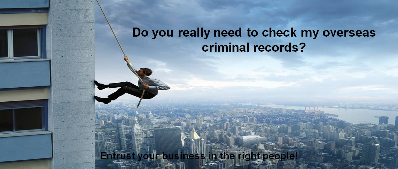 Criminal Checks
